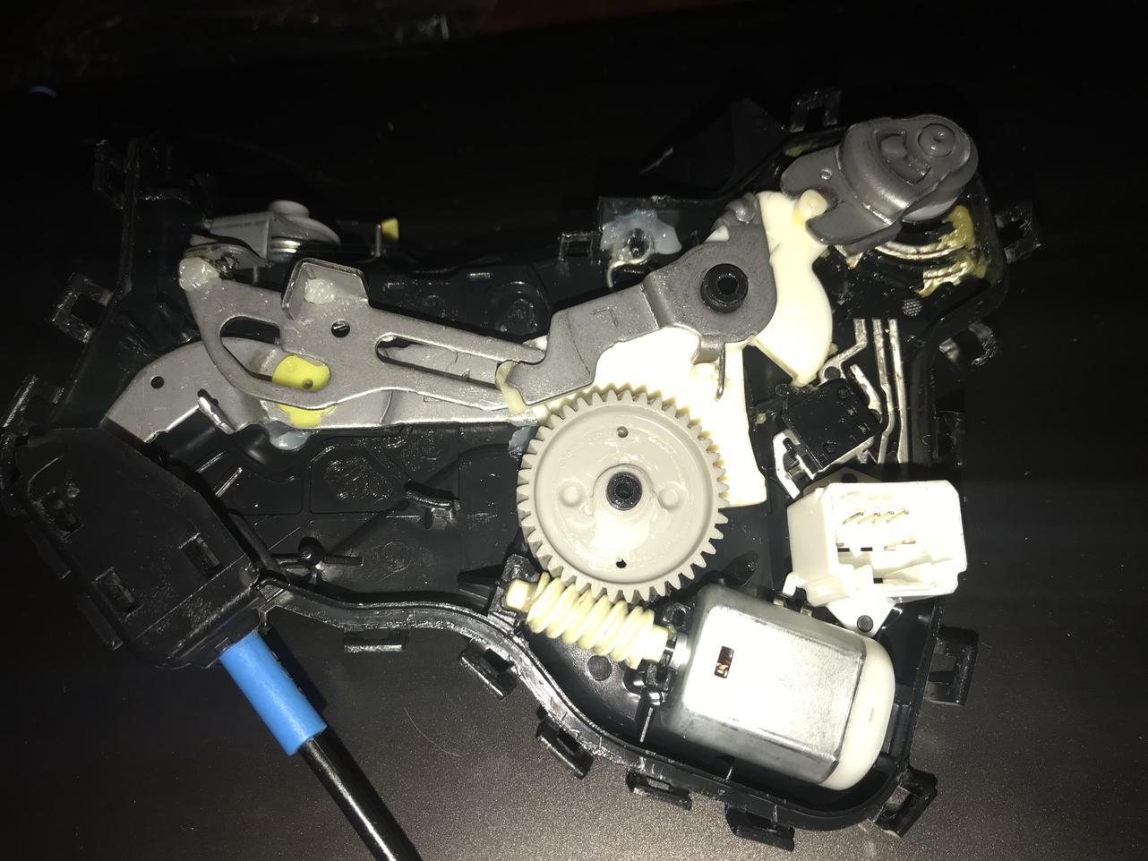 door lock actuator motor toyota